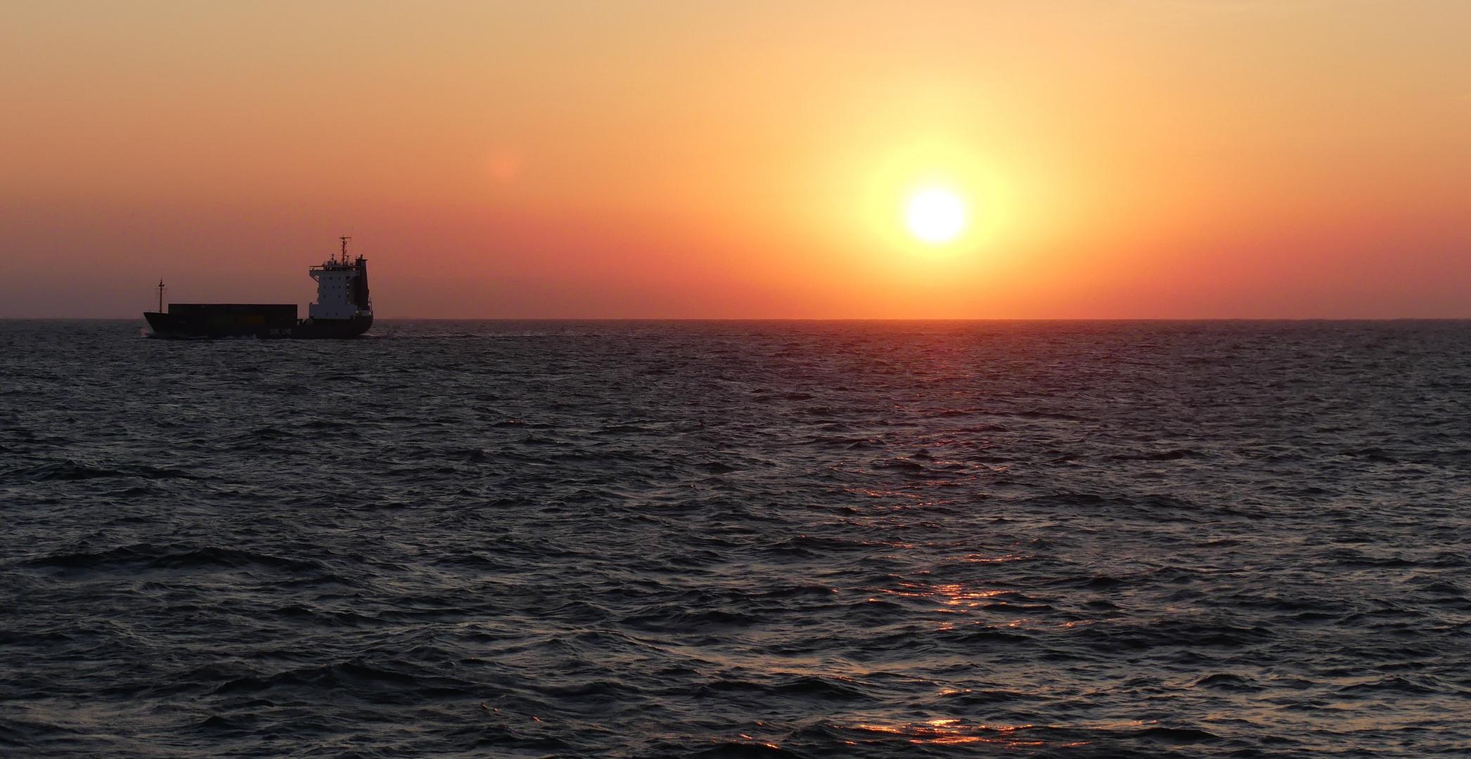 Sunset Northsea