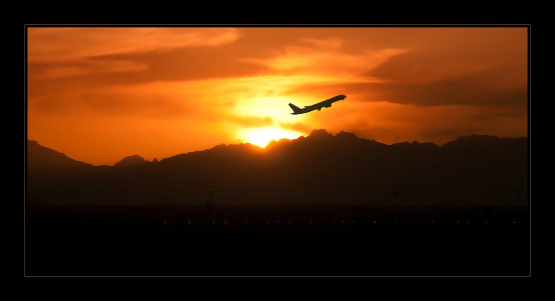 Sunset Of Egypt