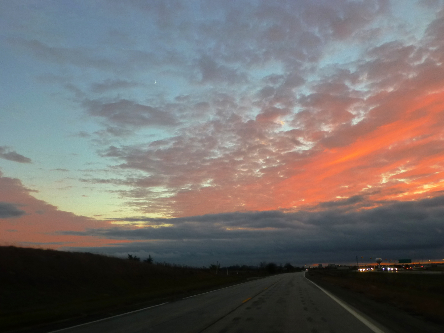 Sunset on 66