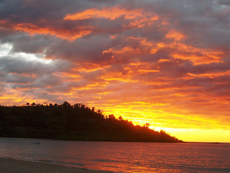 Sunset on Andilana Beach, Nosy Be