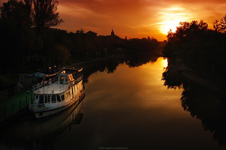 Sunset on Bega