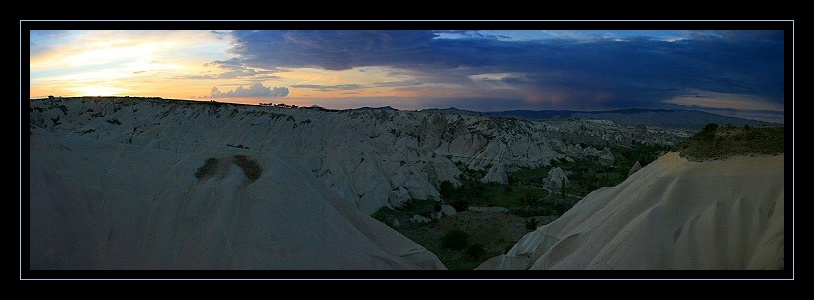 Sunset on Cappadoce