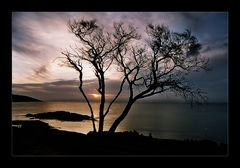 Sunset on Honeymoon Bay