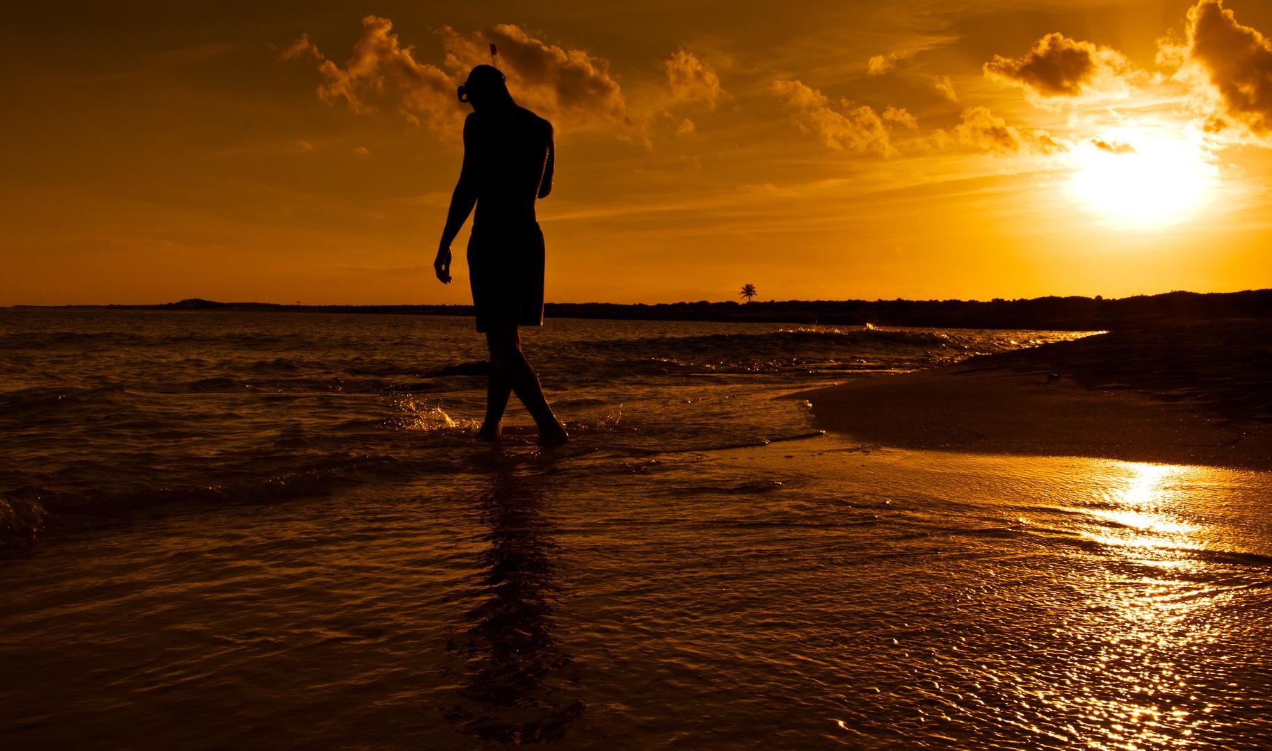 Sunset on Isla Cozumel