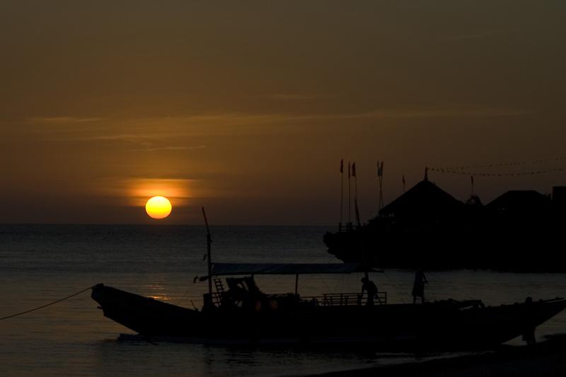 Sunset on Malapascua