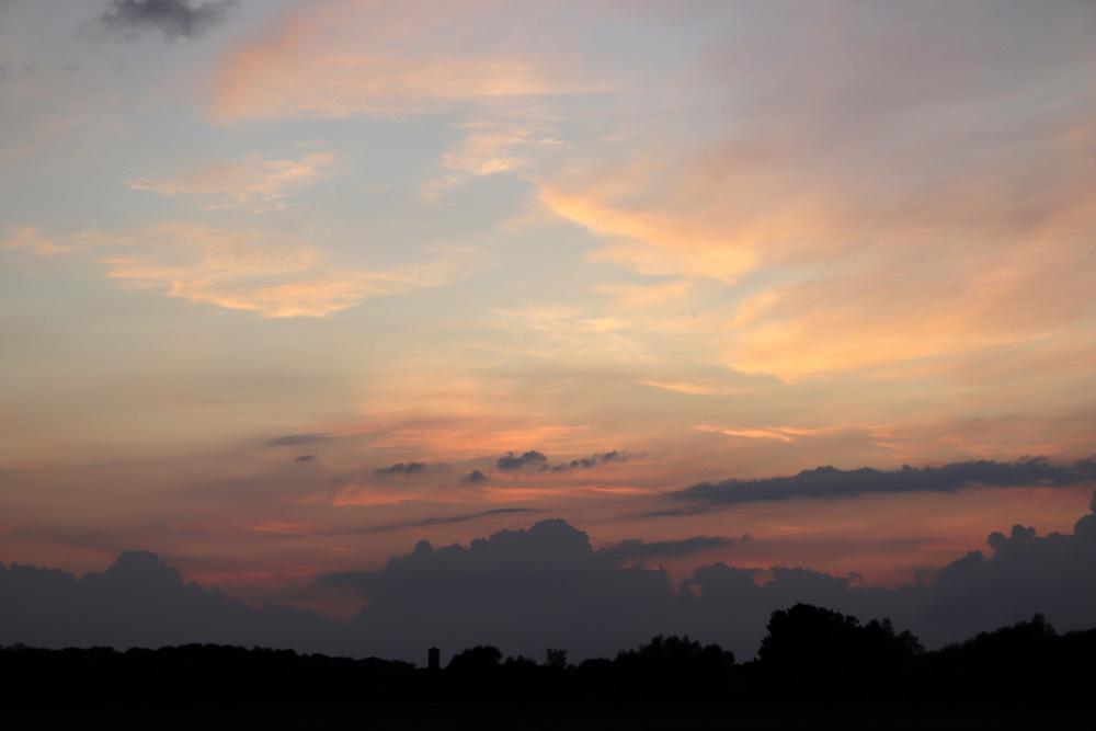 Sunset on the 19/06/2020