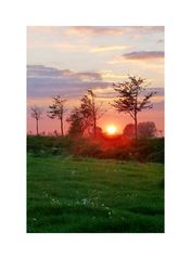 Sunset Oranjendijke 05.10.07