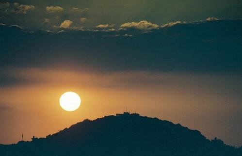 Sunset over Aachen