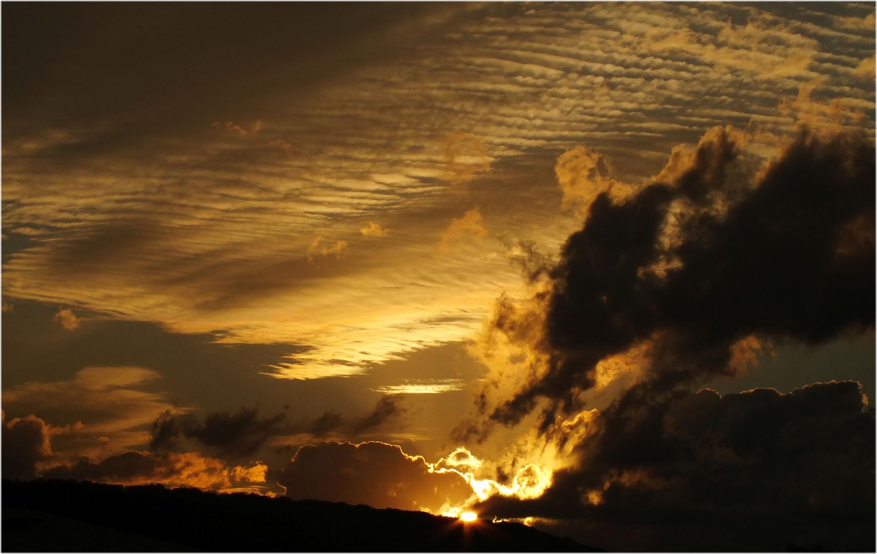 Sunset over Cluj-Napoca