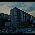 Sunset over Hauptbahnhof - HDR