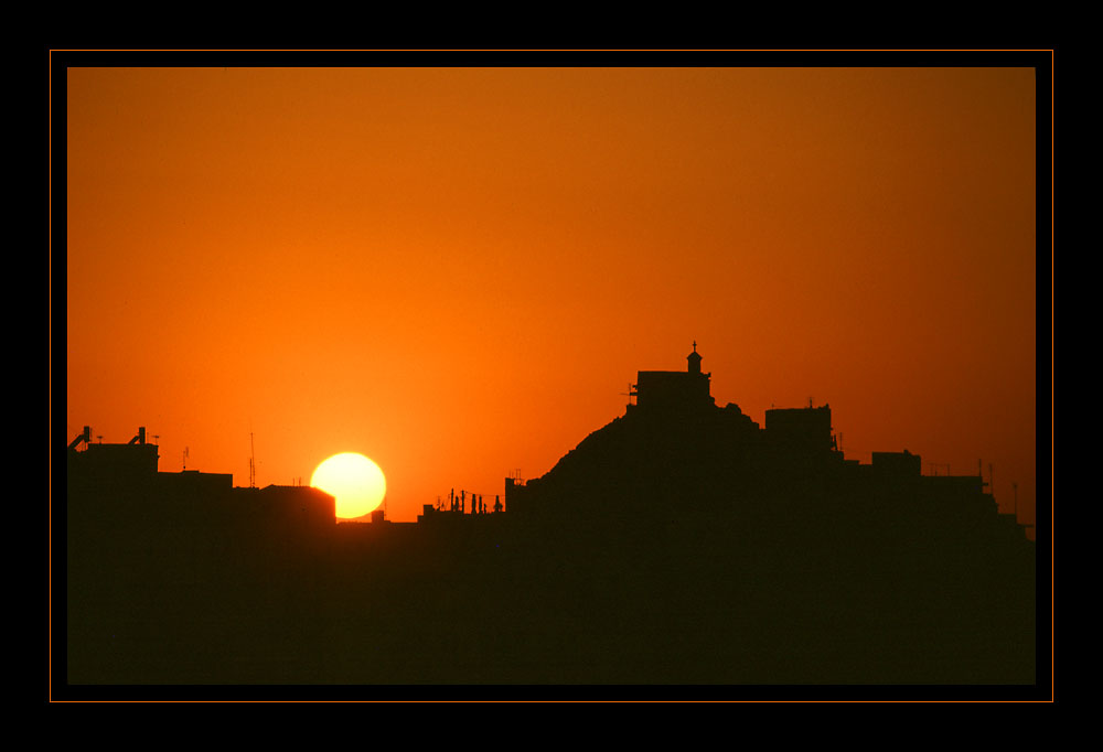 Sunset over Olympos