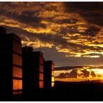 Sunset over València
