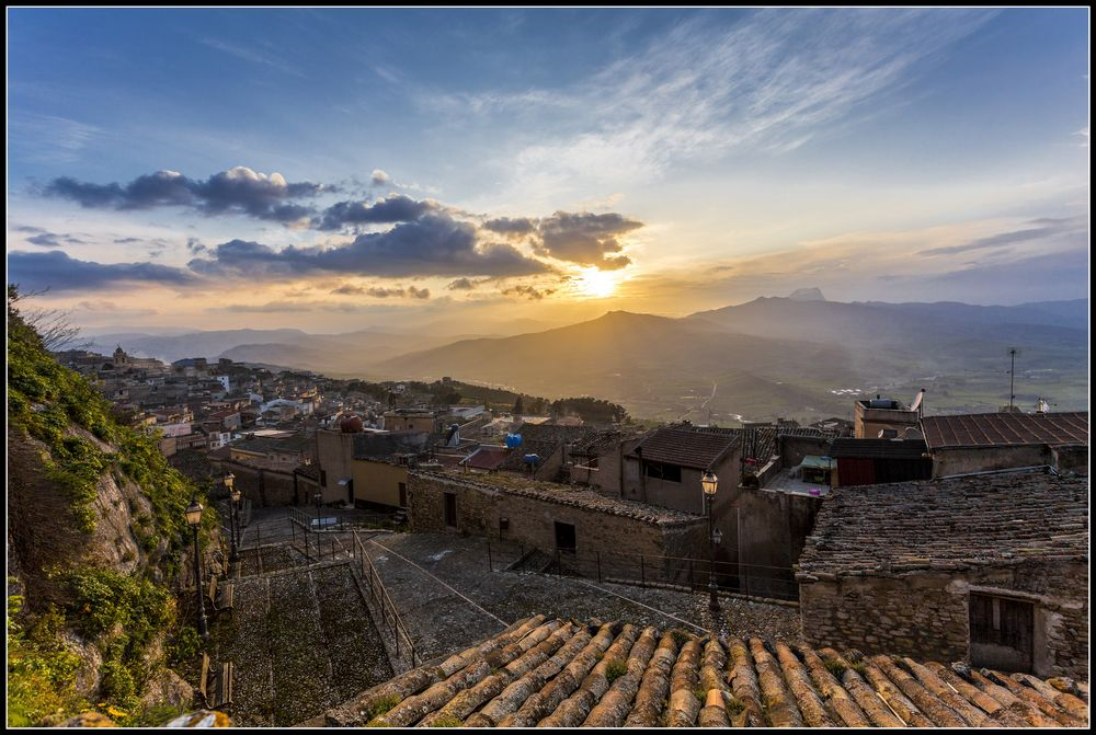 Sunset over Vicari - Part 2
