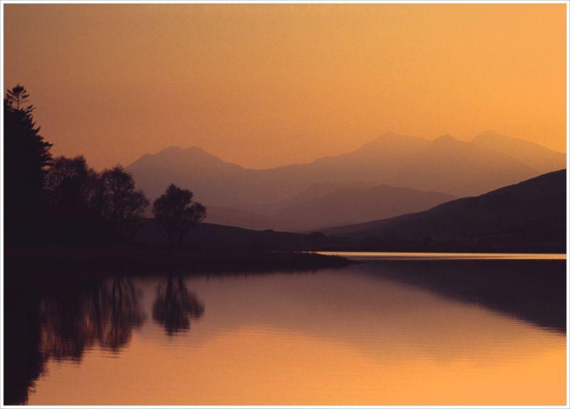 Sunset Over Yr Wyddfa