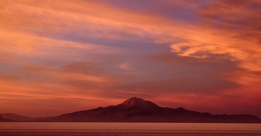 Sunset @ Salar de Surire