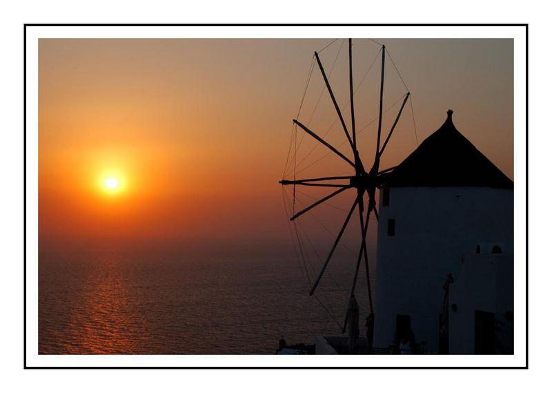 Sunset @ Santorini