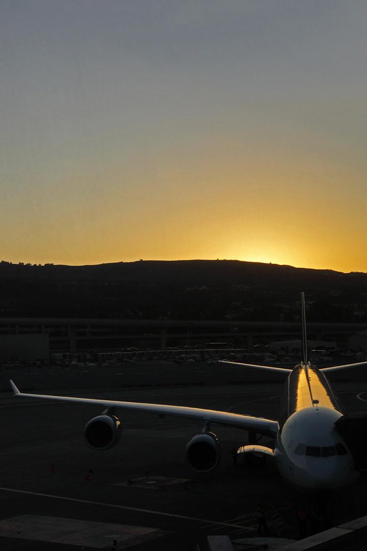 Sunset SFO