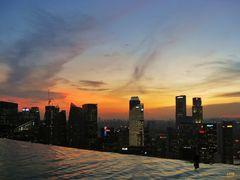 Sunset Skyline Singapore