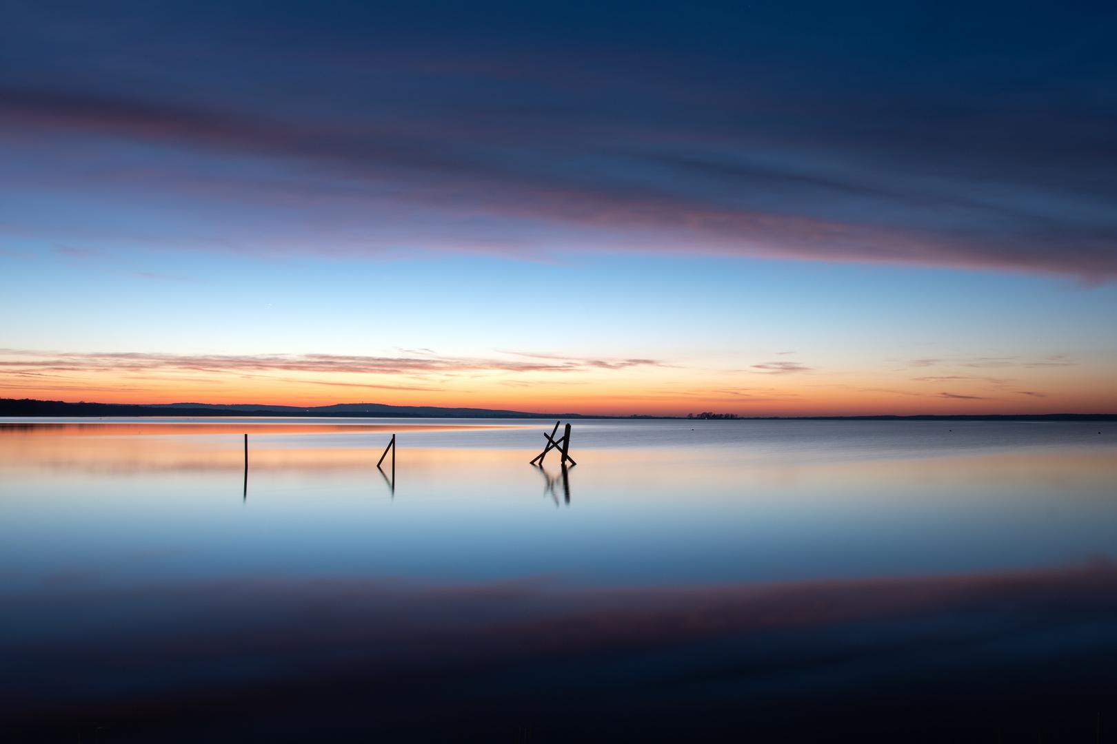 * Sunset Steinhude *