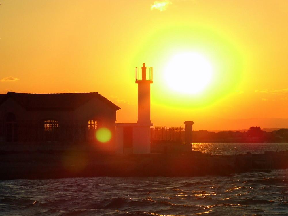 Sunset sur Sète