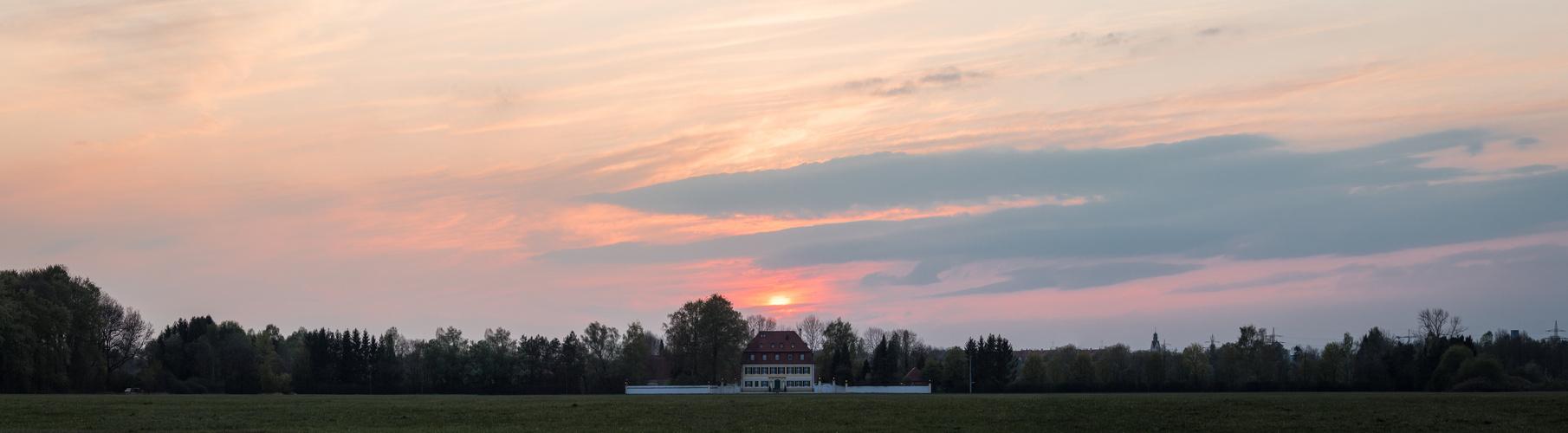 Sunset über Siebenbrunn