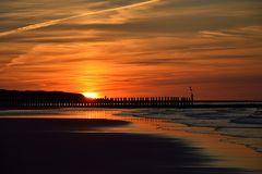 sunset @ Wangerooge