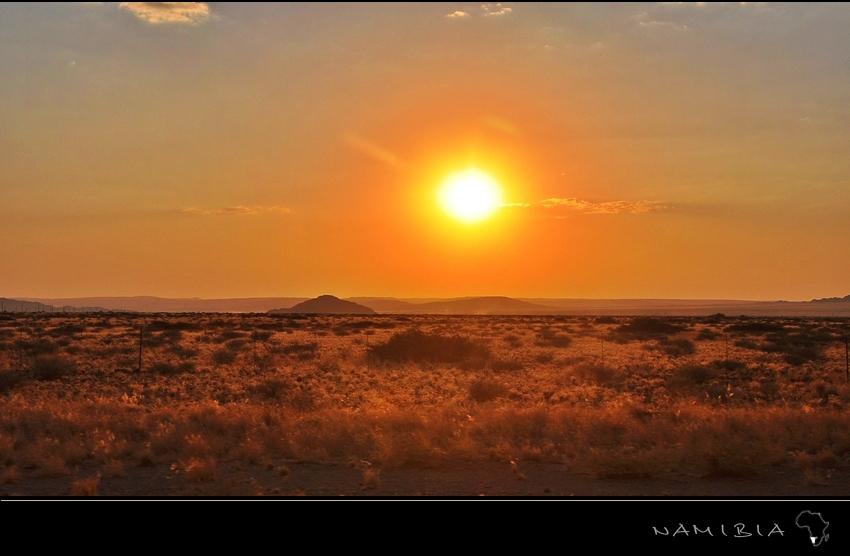 Sunset wilderness