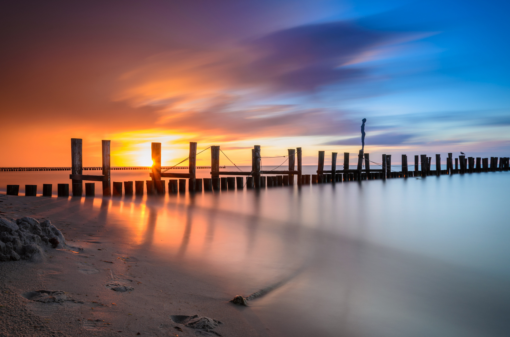 Sunset Zingst