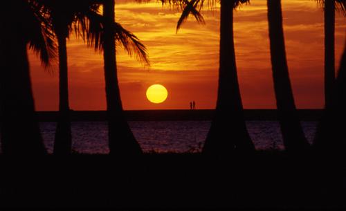 Sunset zu zweit