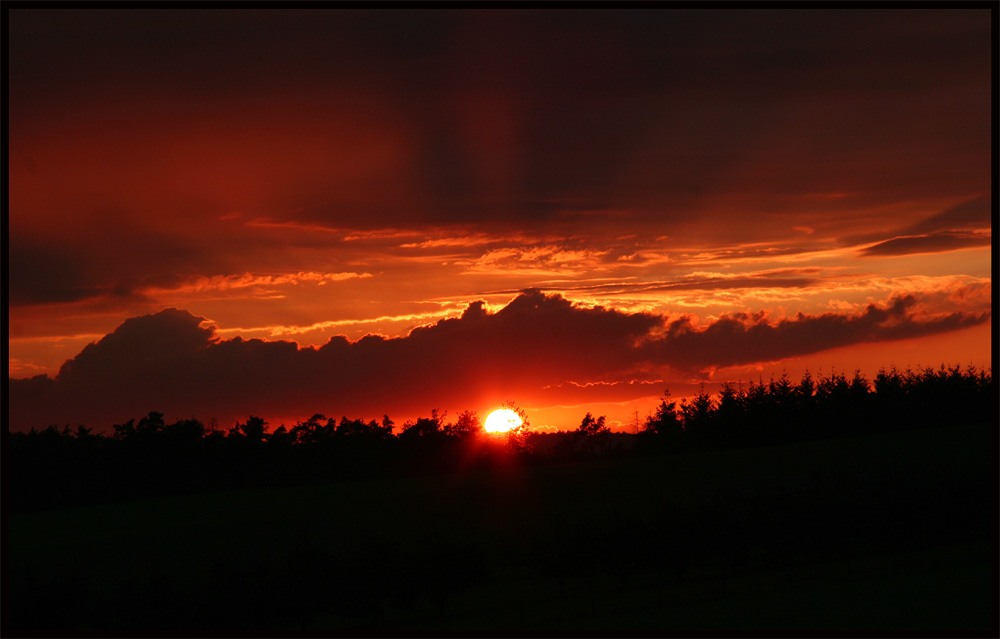 Sunset Zuhause ....