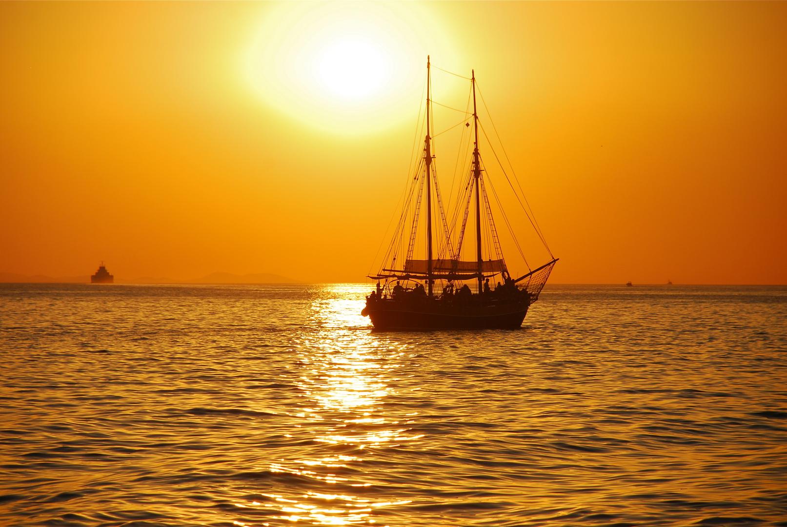 sunset@zadar