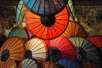 Sunshades at the night market