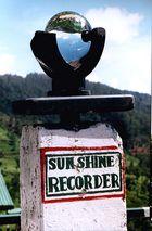 Sunshine-Recorder at Pedro Tea Estate (Nuwara Eliya)