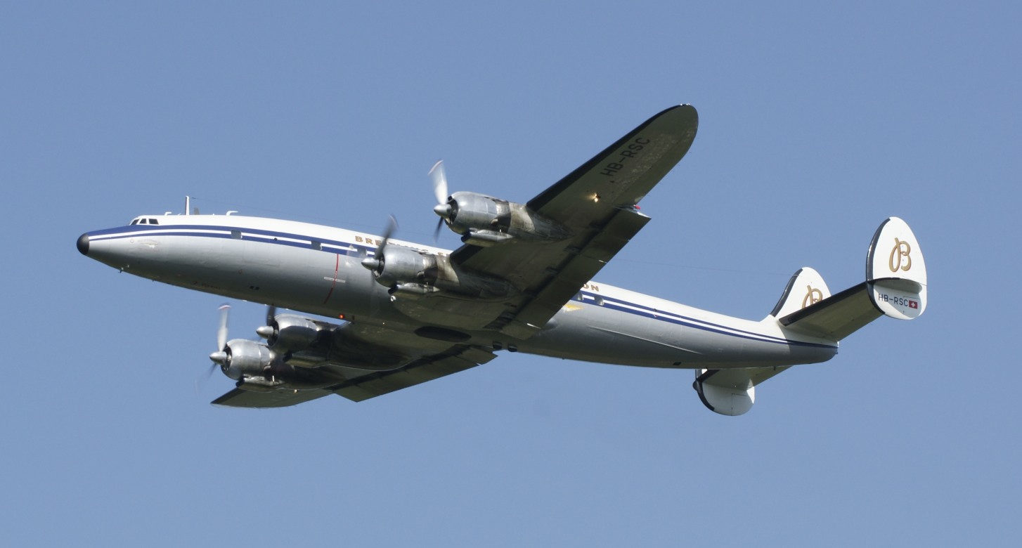 Super Constellation Dittingen 2011.