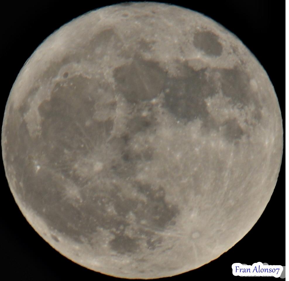 Super Luna Llena Huelva