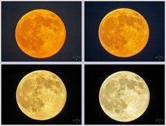Super Luna llena, Verano 2014
