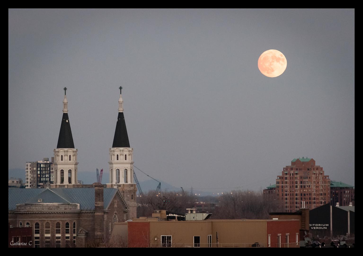 Super lune du 14 nov