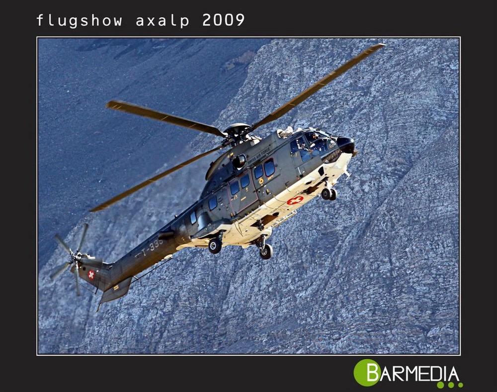 Super Puma der Swiss Air Force