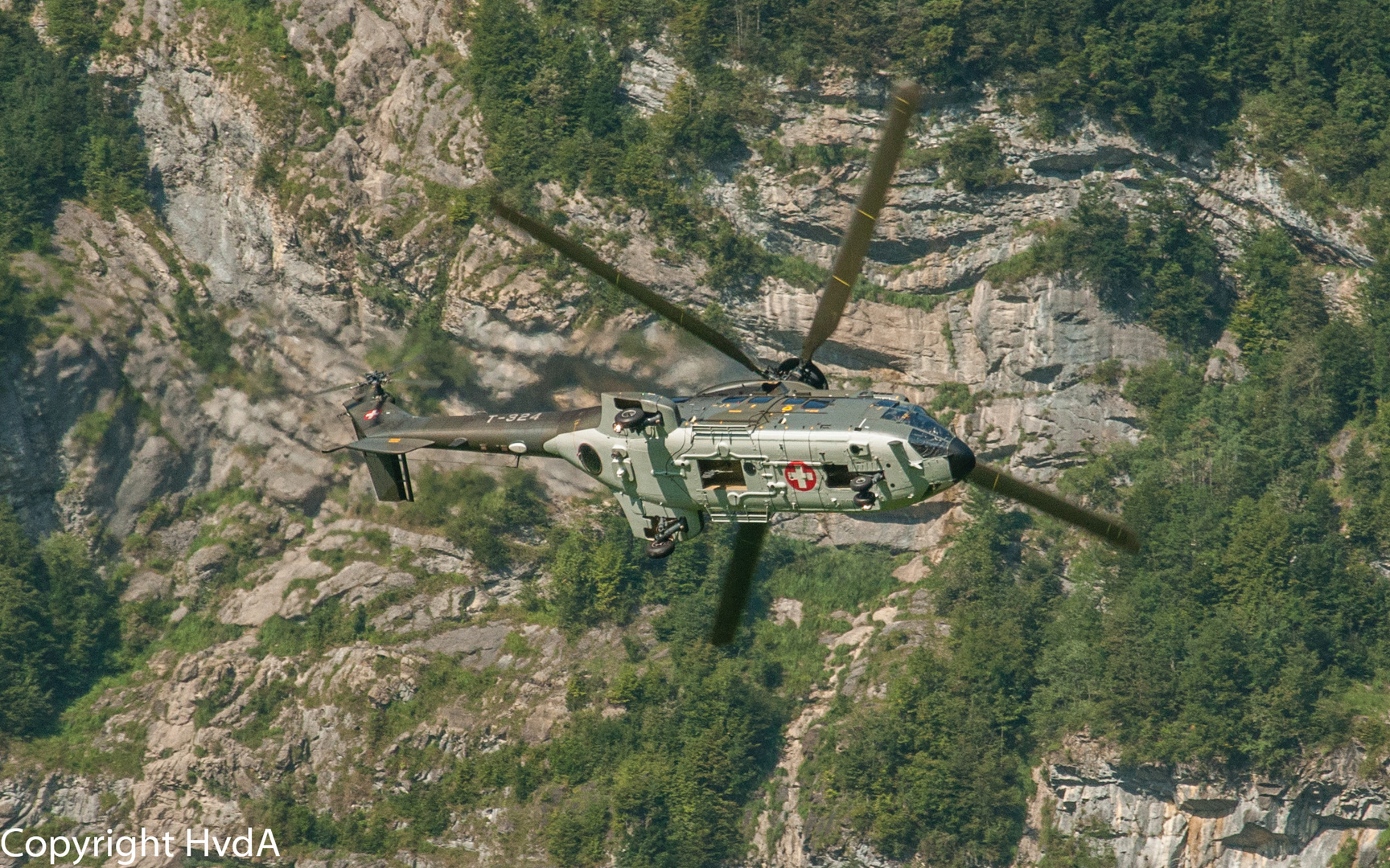 Super-Puma Swiss Airforce