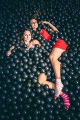 Supercandy-girls im Supercandy Pop-Up Museum