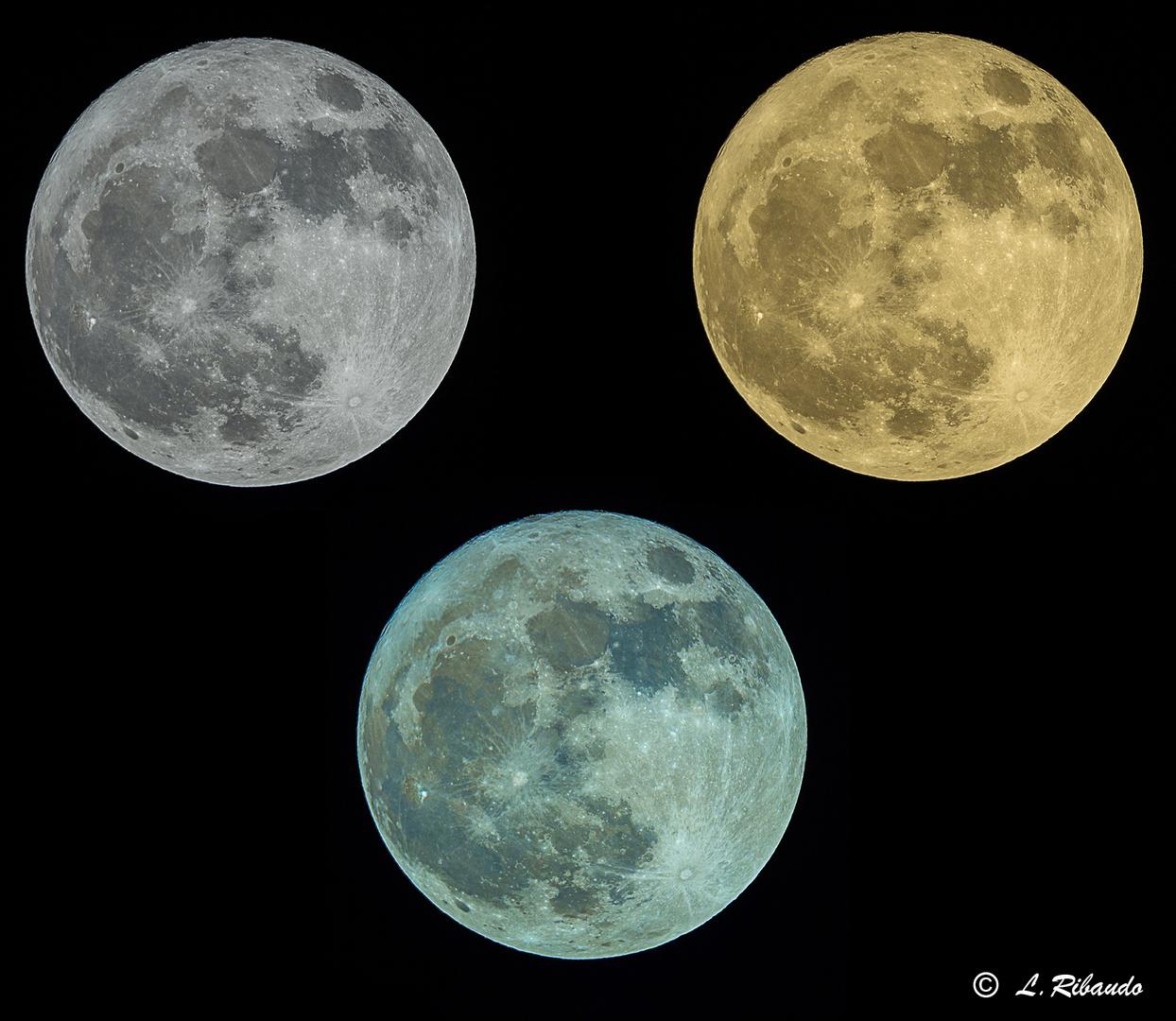 Superluna del 3 dicembre 2017