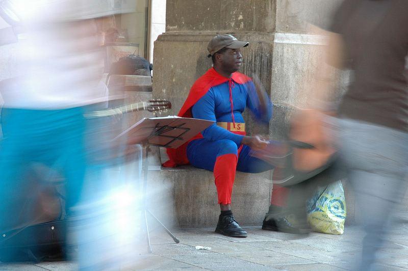 ¿superman?