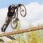 Superman with Bike