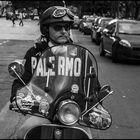 """Supporter of the football team """"U.S. Città di Palermo"""""""