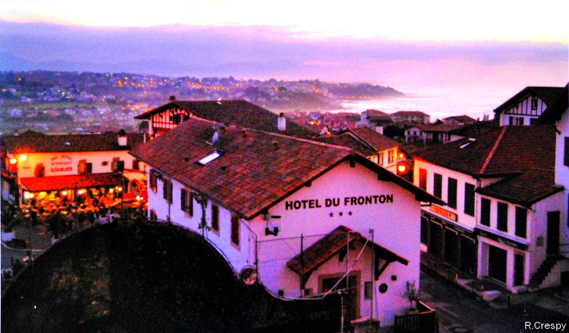 Sur la cote Basque.