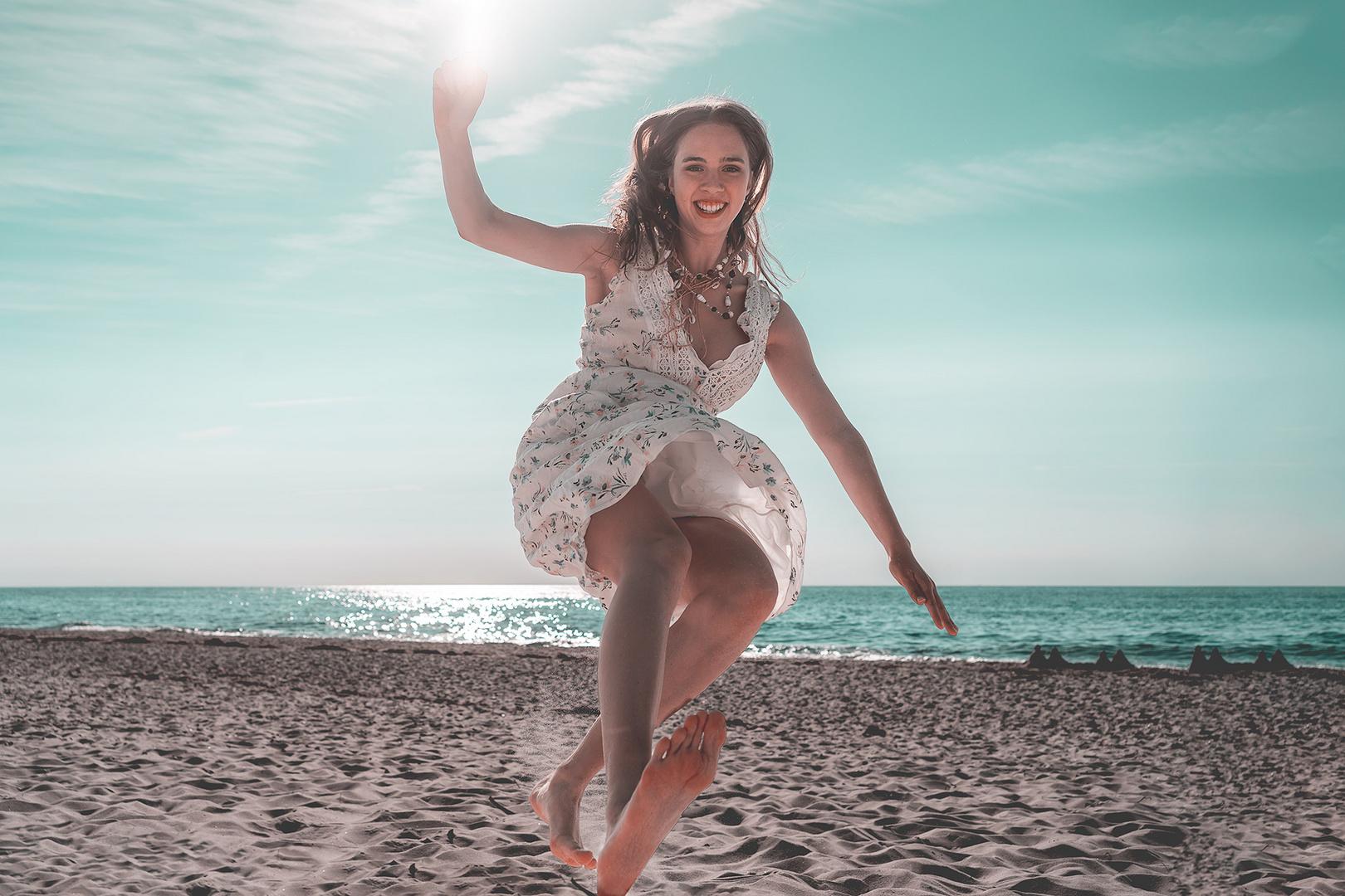 Sur la plage avec Noél iii