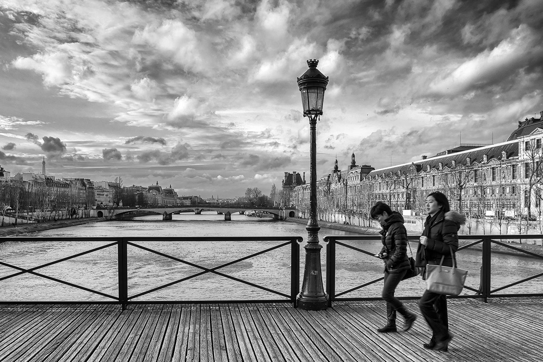 Sur les ponts de Paris