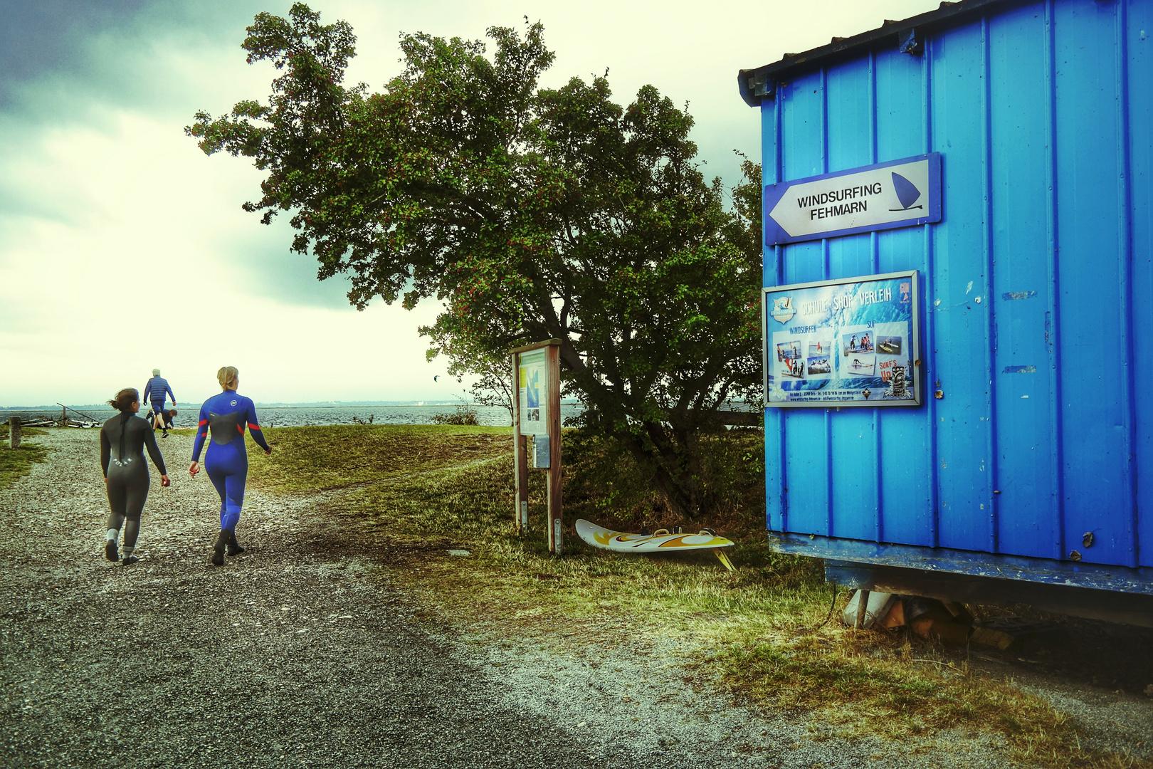 Sur les voiles! Kitesurf à Fehmarn