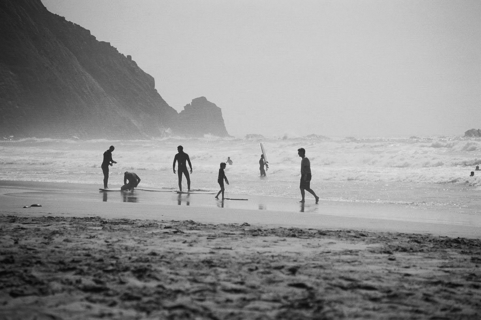 Surf spot Sagres, Portugal