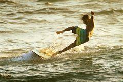 Surfen in Hikkaduwa auf Sri Lanka